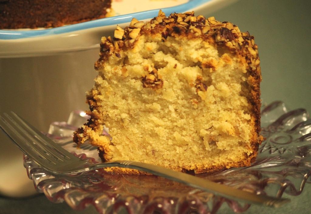 Banana Pound Cake Rosetta Bakes