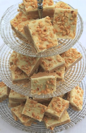 White Peanut Butter Fudge