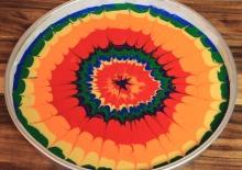 Kaleidoscope Cake/Cupcakes