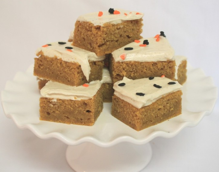 Harvest Pumpkin Brownies